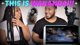 """Azerrz """"Black Panther - This Is Wakanda (Childish Gambino """"This Is America"""" Parody)"""" REACTION!!"""