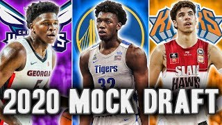 2020 NBA Mock Draft | Start Of The Season Edition
