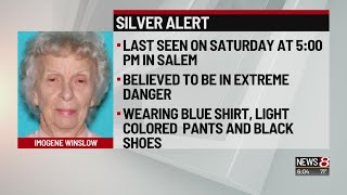 Silver Alert issued for missing 84-year-old Salem woman