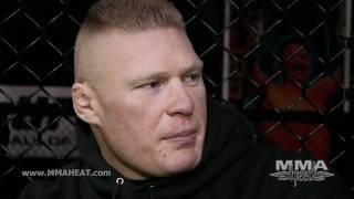UFC 141's Brock Lesnar on Overeem's Skills, Farming + 12 Inches of Missing Colon