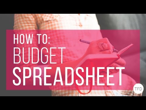 How to Make a Budget in Excel