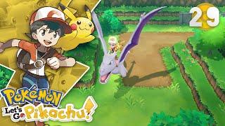 Pokemon Let's Go Pikachu Guía en Español Episodio 29: Camino a la Calle Victoria