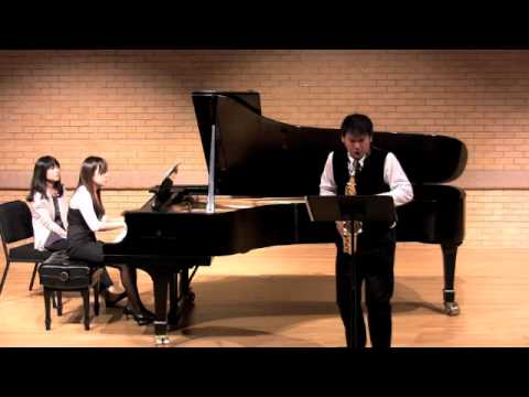 Brahms Sonata Op.120 No.2 for Saxophone and Piano (Excerpt)