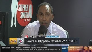 Stephen A. Smith: Lakers versus Clippers would be the greatest first-round matchup in NBA history
