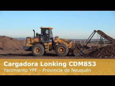Cargadora Lonking CDM853