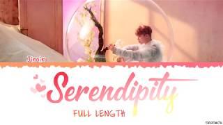 [Full Length Edition] BTS  JIMIN - SERENDIPITY (세렌디피티) Lyrics [Color Coded Han_Rom_Eng]