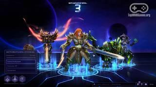 Геймплей онлайн игры Heroes of the Storm (Full HD, Ultra Graphics)