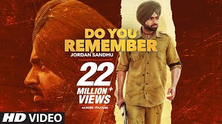 Do You Remember – Jordan Sandhu