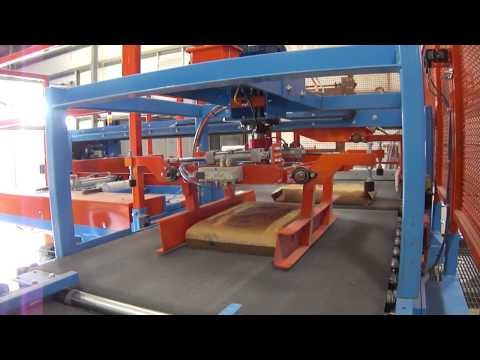 Overhead bag rotator