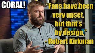 The Walking Dead Season 8 Robert Kirkman Interview About Carl - Kirkman Finally Speaks About Carl!