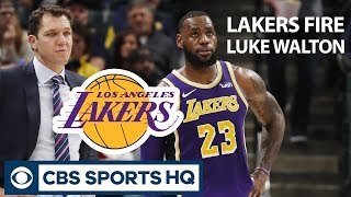 """The LAKERS are CLEANING HOUSE"" - Reid Forgrave on Lakers FIRING Luke Walton 
