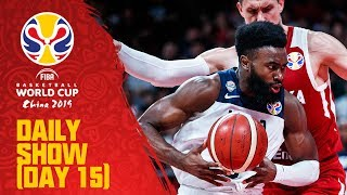Daily Show | Day 15 | Class. 5-8 | FIBA Basketball World Cup 2019