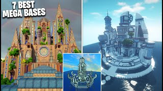 7 BEST Minecraft MEGA BASES EVER! (Best Minecraft Builds)