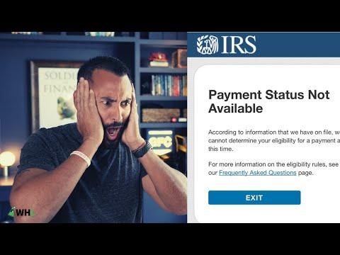 IRS Stimulus Check Status | Common Errors FAQ
