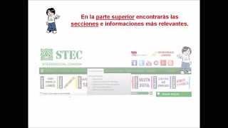 Guía rápida de uso - Web del STEC-IC
