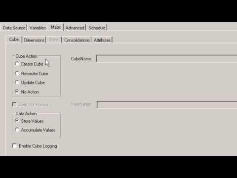 TM1 Version 10.1.1 Creating Dimensions