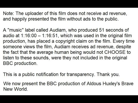 Aldous Huxley\'s Brave New World