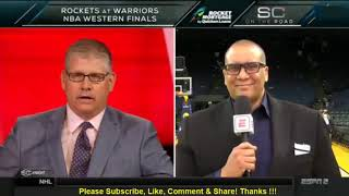 Marc J. Spears on GS Warriors losing to Rockets 95-92 in Game 4 2018