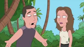 """The Island From Lost - Family Guy """"Baby Not On Board"""""""