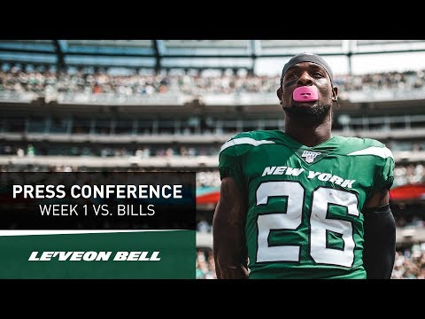 Le'Veon Bell Postgame Press Conference | New York Jets vs. Buffalo Bills Week 1 | NFL