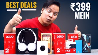 ₹399 Mein Amazing Gadgets * Best Deals * ⚡⚡ Unboxing New and Refurbished Products from 2GUD