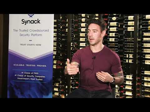 Kevin Fielder, CISO of Just Eat, at the Synack Guardians of Trust awards ceremony that took place during the 2019 RSA Conference in San Francisco. He talks about building trust into security and the importance of continuous testing.