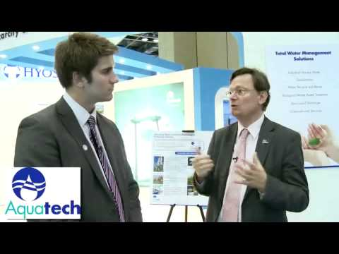 Karl Millauer talks about Aquatech's solutions for reducing the water footprint in Oil & Gas