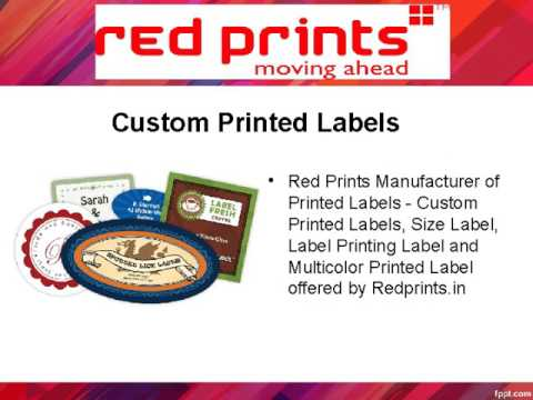 Digital Printing Company - Redprints.in