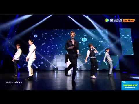 [中字live]150629 BOYFRIEND(보이프렌드) - Lost memory 2015上海演唱会