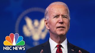 Biden Chief Of Staff Releases Plan For First 10 Days In Office   NBC Nightly News