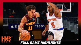New York Knicks vs ATL Hawks 4.21.21   Full Highlights