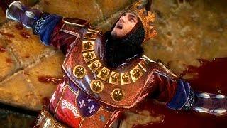 Death of King Foltest: Most Epic Game Scene (Witcher 2 | Letho Escapes, Geralt Captured)