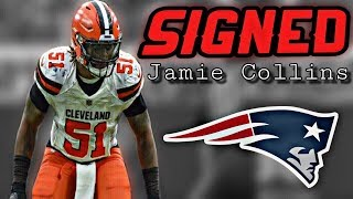 Patriots Sign LB Jamie Collins