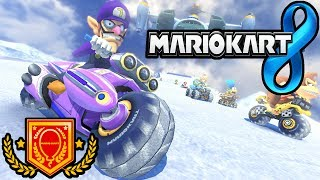 Mario Kart 8: Battle Mode Online - Ode to Waluigi, Quick Turn Gameplay