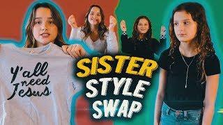 Sister Style Swap | Hayley LeBlanc & Annie LeBlanc