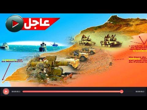 أرتال عسكرية مغربية ضخمة مرفوقة بآلاف الجنود تصل الصحراء