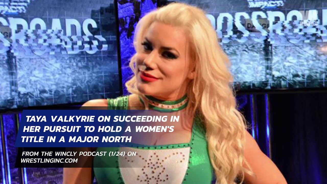 Taya Valkyrie Talks Holding Gold In Impact Wrestling ...