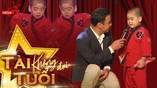 Thần đồng nhí 5 tuổi khiến sao Việt phấn khích
