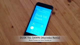 DUSK TILL DAWN Ringtone - Zayn Malik & Sia Tribute Marimba Remix Ringtone - [Download]
