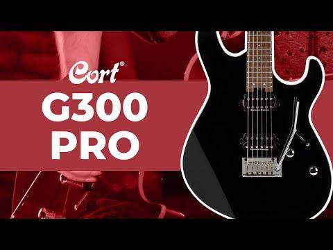 Cort G300 Pro Electric Guitar, Black