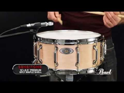 Pearl Drums Pearl Sensitone Elite 14x6.5 Premium Maple Snare Drum