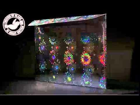 Creative Shine Holographic Firework Blast Envelope