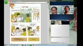Tiếng Anh cho trẻ em với giáo viên nước ngoài