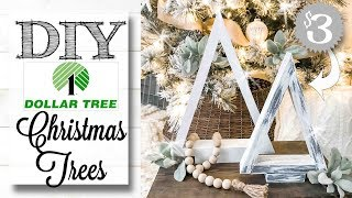 DIY Dollar Tree 🌲 Christmas Trees | ONLY $3!!!!
