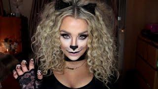 Cat Halloween Make Up Tutorial