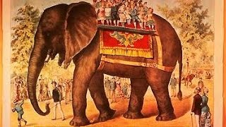 THE DEATH OF P. T.  BARNUM'S JUMBO