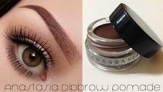 How To Use ABH Dipbrow Pomade (Eyebrow Tutorial)