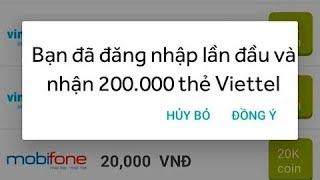 Hướng dẫn nhận 200k thẻ viettel miễn phí, mỗi ngày kiếm 300-500k ,,,,,linh tải dưới phần mô tả