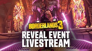 Borderlands 3 - Worldwide Gameplay Reveal