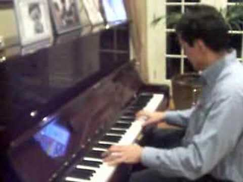 Fernando Dangond Castro en el piano